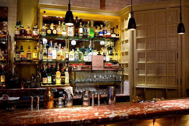Bar at The Chiltern Firehouse | www.rachelphipps.com @rachelphipps