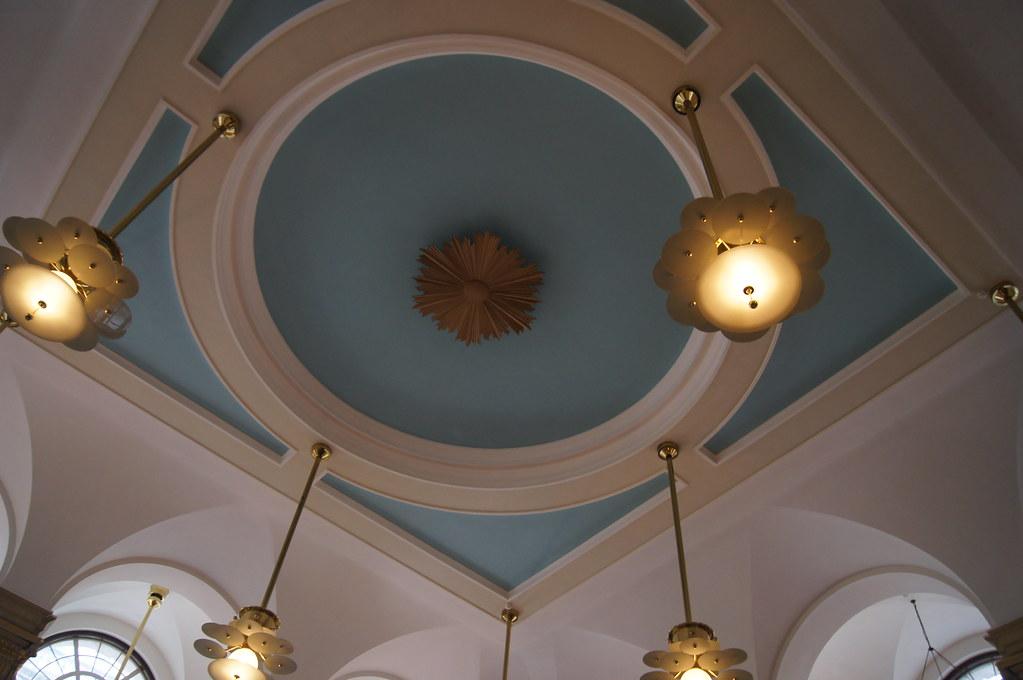 Jamie's Italian ceiling