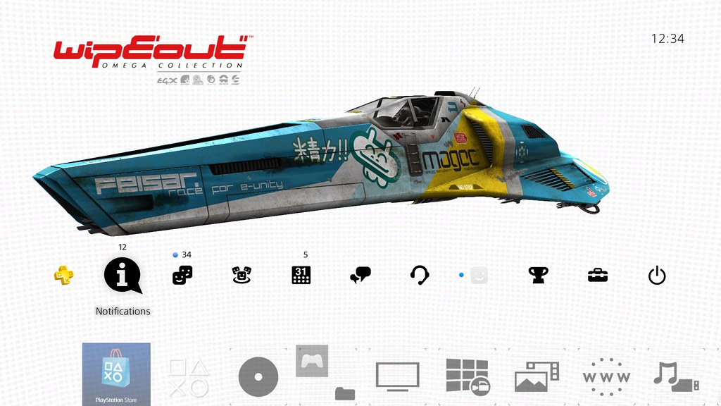 Дата выхода Wipeout Omega Collection
