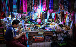 Market traders at Mahamuni Buddha Temple | by Neville Wootton Photography