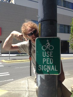 bikes use ped signal | by calitexican
