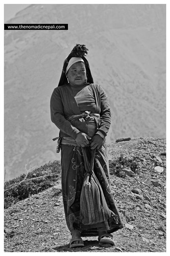Local woman fro the trail | by The Nomadic Nepali