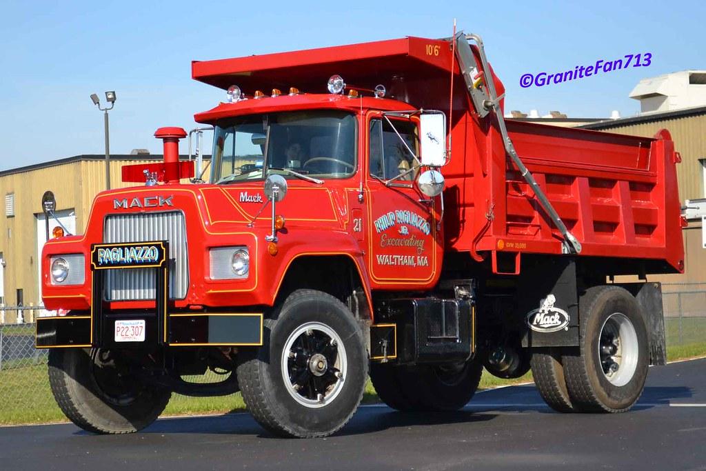 Mack R Model Dump Truck