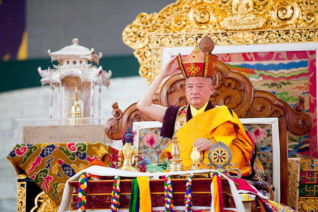 20170226_Long life Empowerment of Practice of the Three Roots Combined and Red Crown Ceremony Gyaltsab Rinpoche