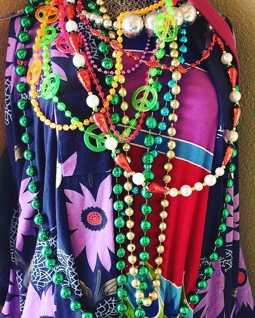 Happy Mardi Gras! I think my son owes me some beads, after all I do flash him all day long! 😂