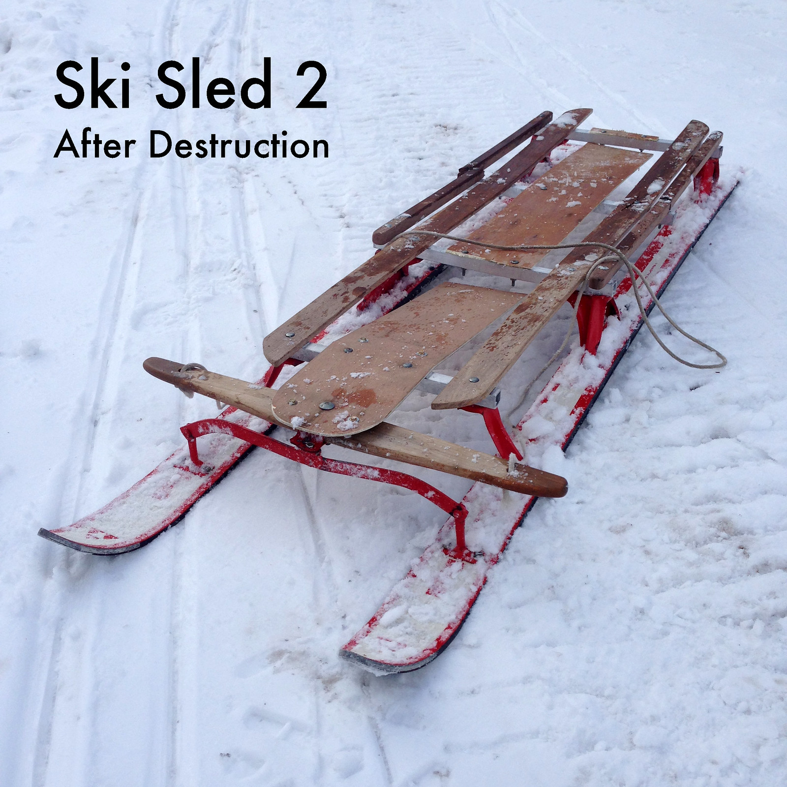 the ski sled 11 steps with pictures