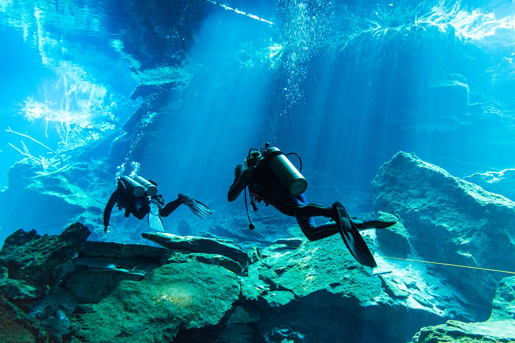 Cenote Diving - Chac-Mool