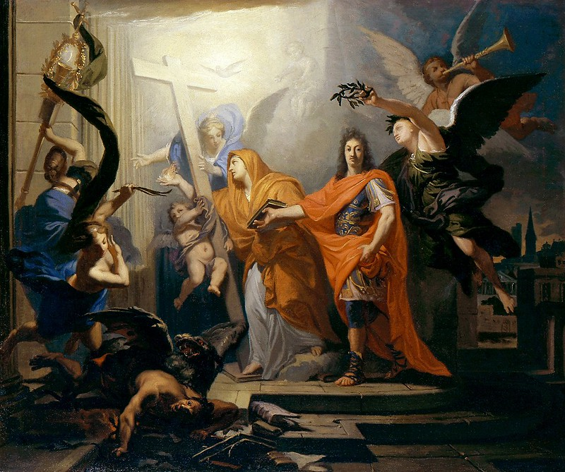Antoine Rivalz - An Allegory, Probably of the Peace of Utrecht of 1713