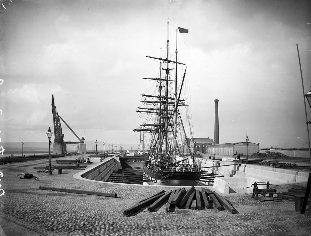alexandra graving dock belfast 2 taken from further b flickr