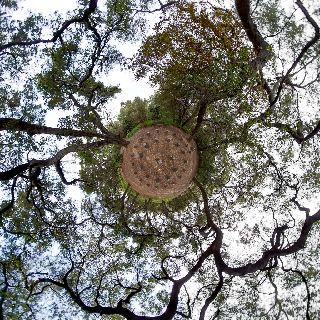 Sacred Geometry Little Planet @ Descanso Gardens | Located i… | Flickr