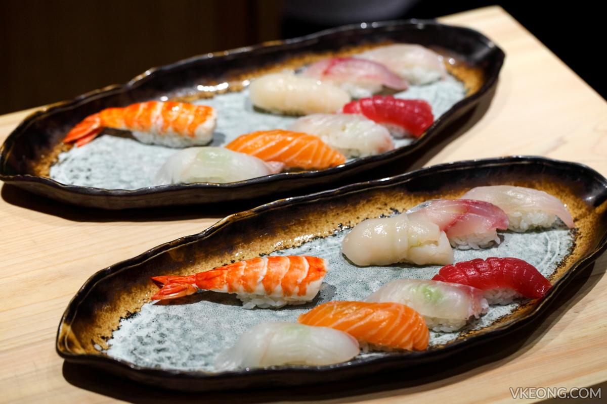 Sushi Azabu Koi Course Sushi
