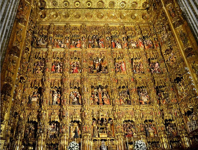 El mayor retablo del mundo.