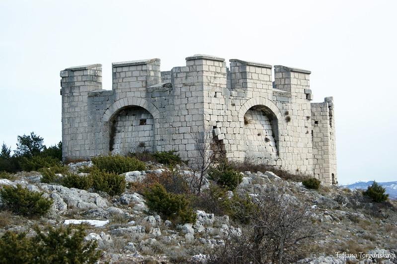 Боевая часть форта