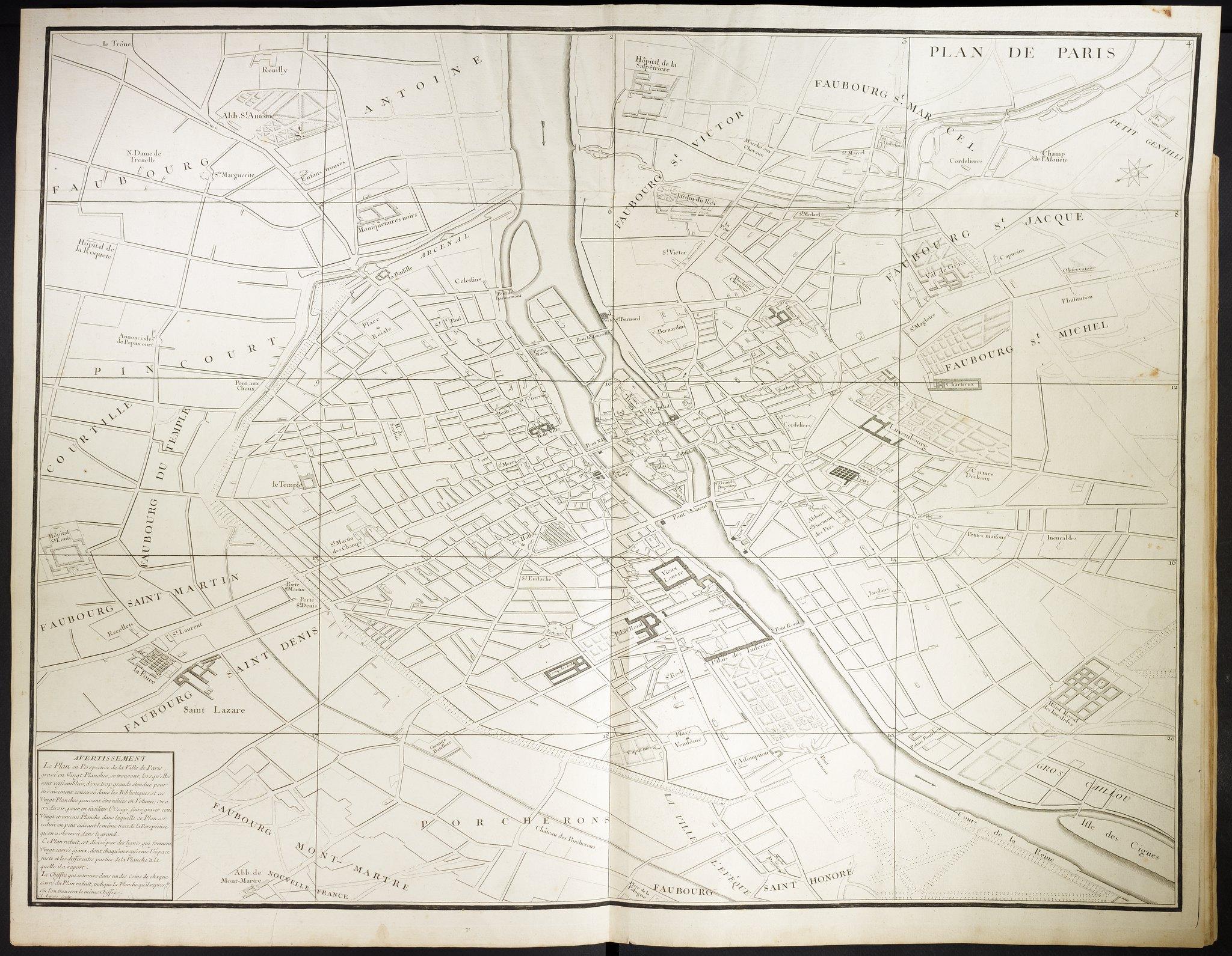 02. План Парижа