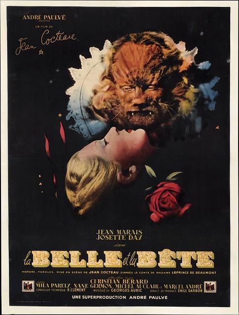 La Belle et La Bête - 1946 - Poster 2
