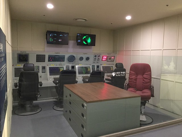 Submarine control room