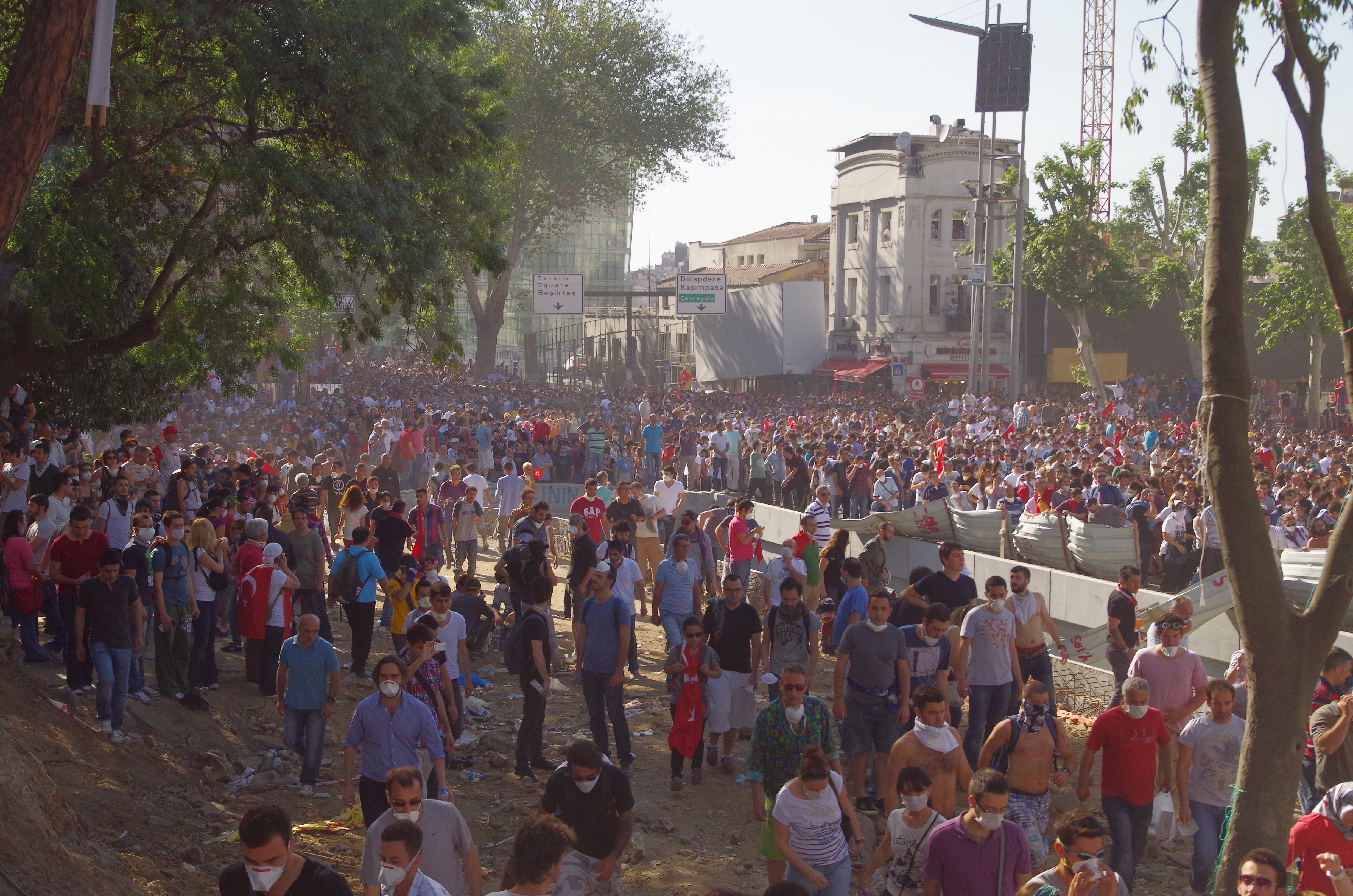 Taksim Square - Gezi Park Protests, İstanbul