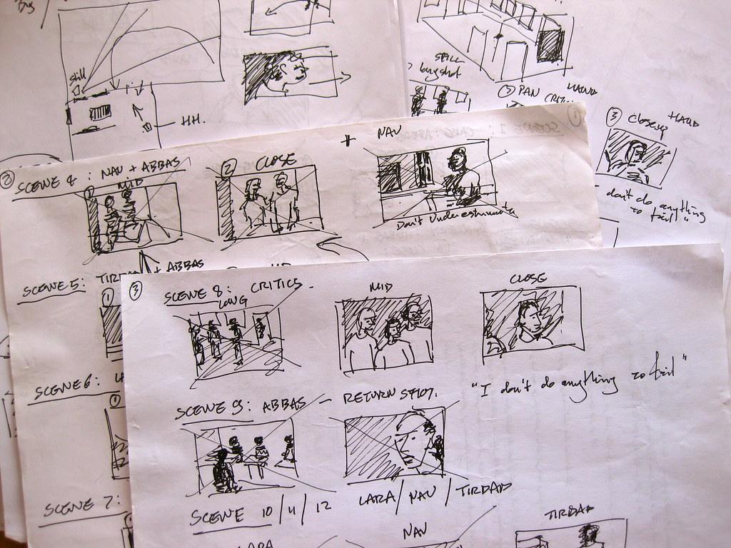 Exemple de storyboard 1