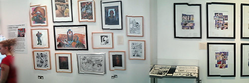 Dredd 20-21 Exhibition 2013 - Wobbly panorama part 1 | by Andy Lee - ★☆☆☆☆