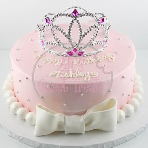 Simple Princess Cake Design : Simple Princess cake! #princess #cake #yummy #redvelvet #l ...