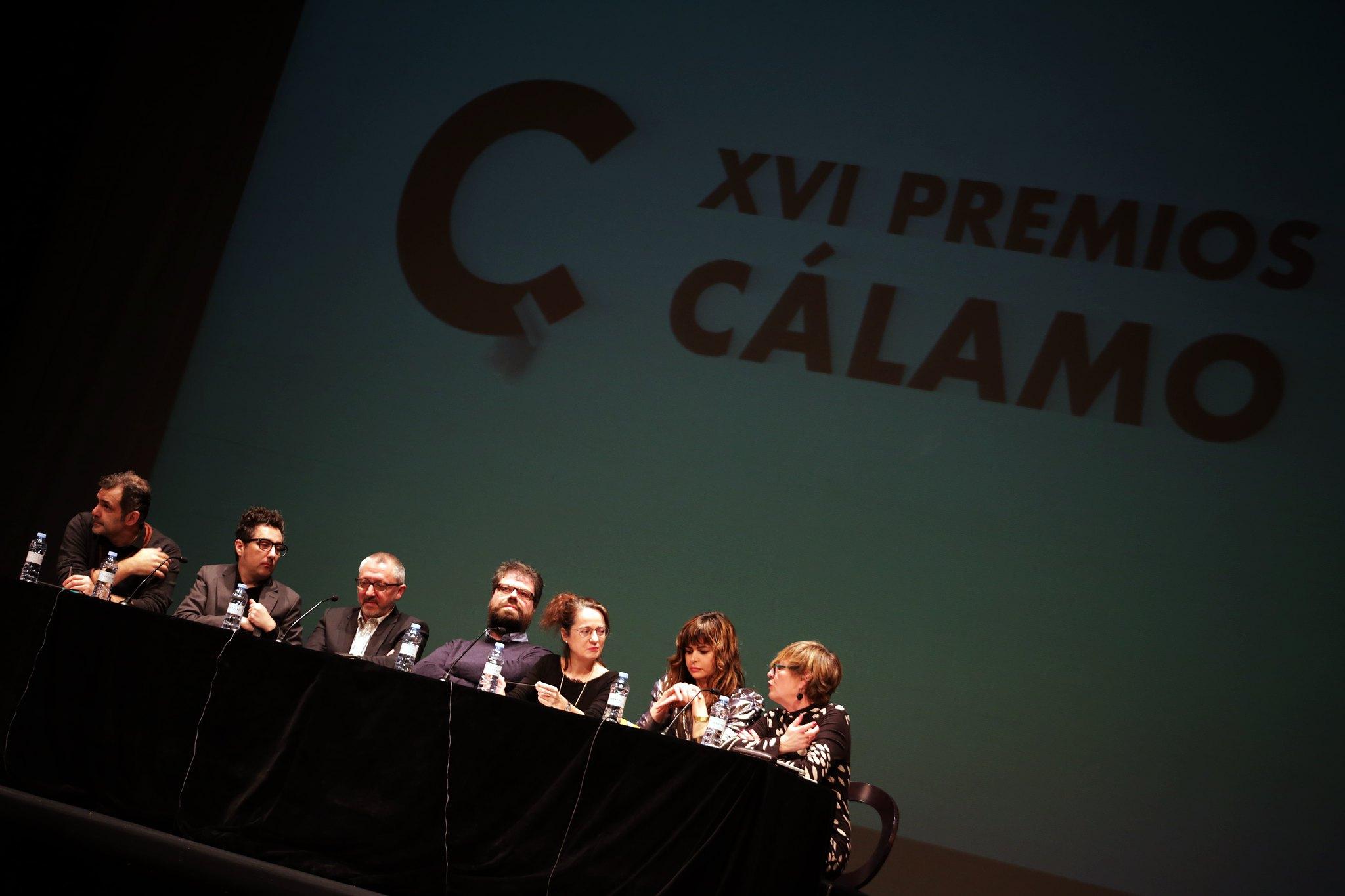 Gala de los XVI Premios Cálamo. Alicia Kopf 2