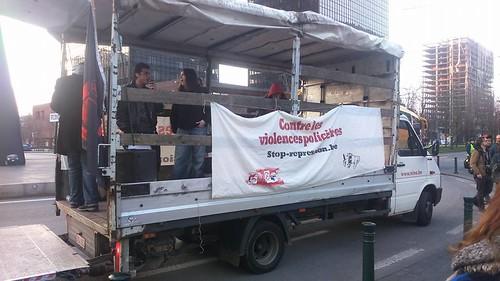 Manifestation contre la répression d'Etat