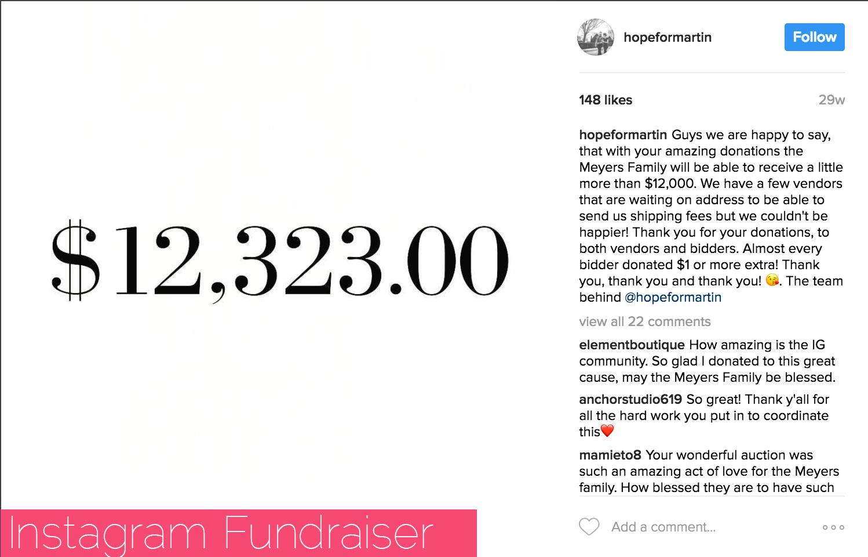 Hope for Martin fundraiser benefitting Emily Meyers and her family