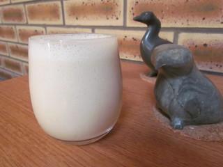 Dreamy Tahini Vanilla Breakfast Shake