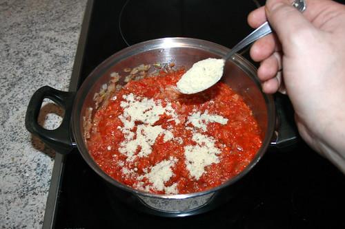 61 - Hühnerbrühe einstreuen / Intersperse instant chicken broth