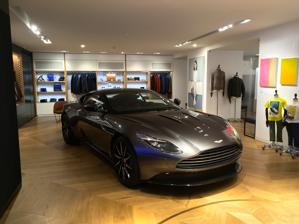 Aston Marin Boutique Store Mayfair London Dover Street I Flickr - Aston martin marin