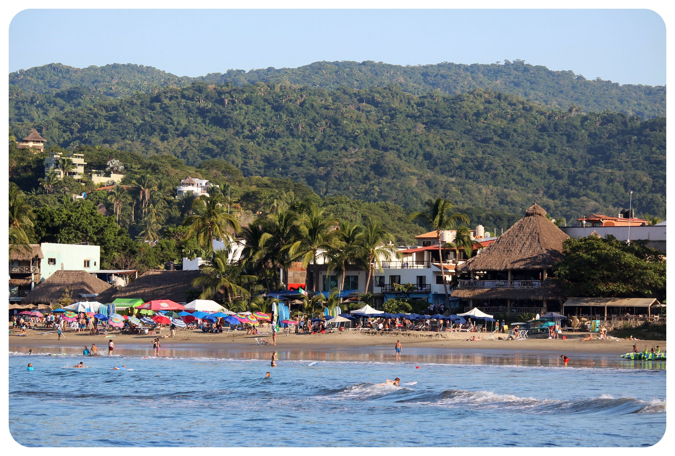 sayulita with jungle