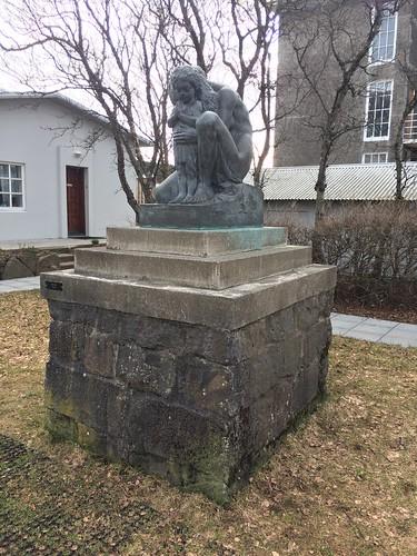 Sculpture garden Reykjavik