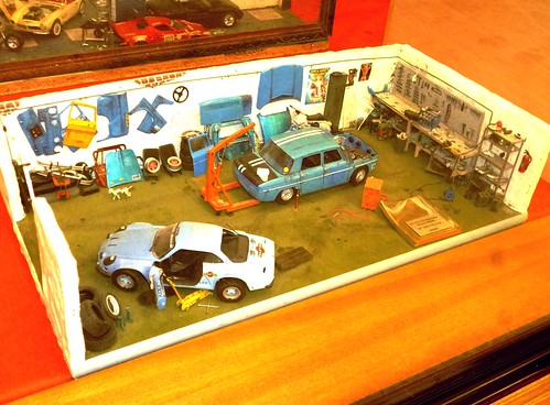 diorama garage renault mus e de reims champagne 51 vis flickr. Black Bedroom Furniture Sets. Home Design Ideas
