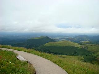 063 Uitzicht vanaf de Puy de Dome
