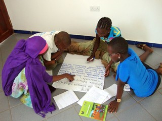 Young people during national consultation in Tanzania | by The World We Want 2015