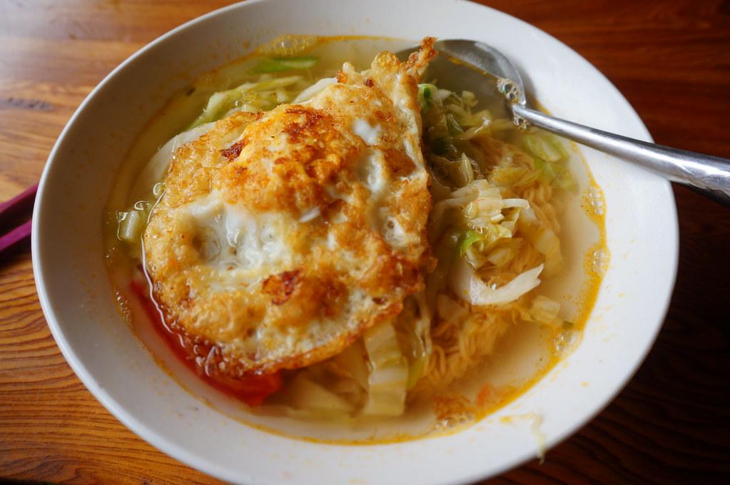 Egg soup, Sapa, Vietnam