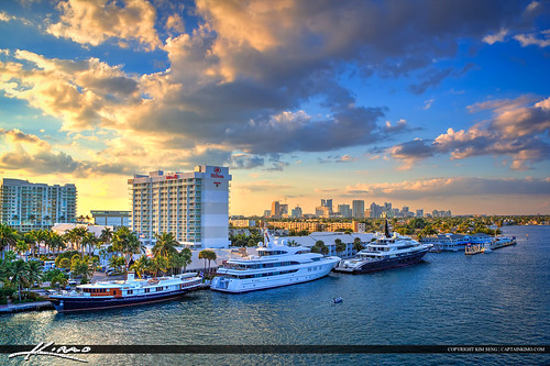 Skyline Hotel Marina Fort Lauderdale City | by Captain Kimo