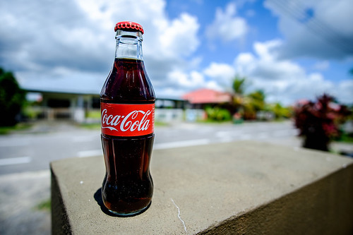 Coke bottle Fujifilm X-E2 + Samyang 12mm F2.0 NCS CS