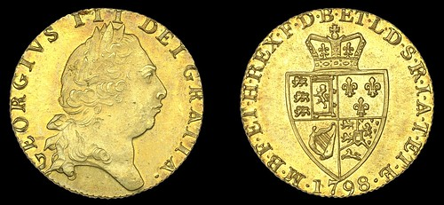 George III Guinea 1798
