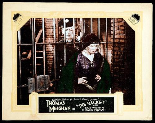 The Racket - 1928 - lobbycard 2
