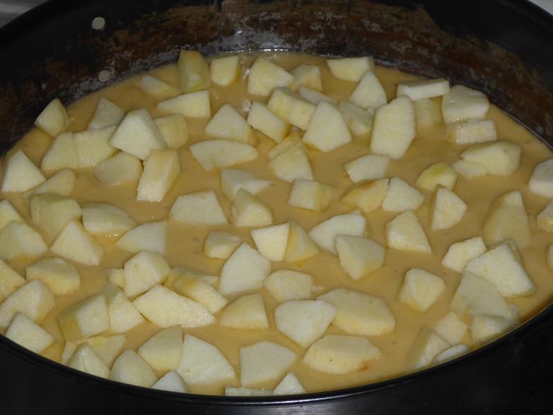Apfelkuchen backen 017