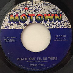 FOUR TOPS:REACH OUT I'LL BE THERE(LABEL SIDE-A)