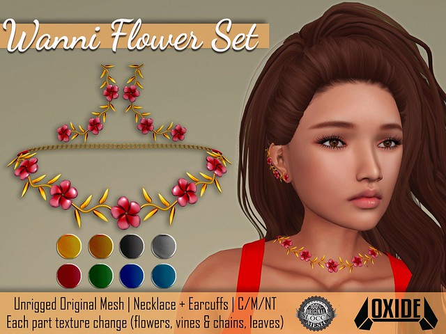 OXIDE Wanni Flower Set