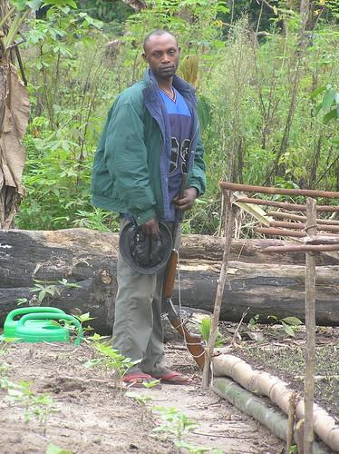 Ranger in Obenge gardens