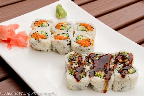 Spicy Tuna/Eel Rolls, Ikko Sushi