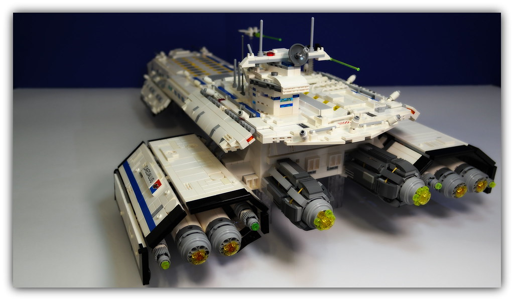 Lego Stargate Daedalus Peter Ray Flickr