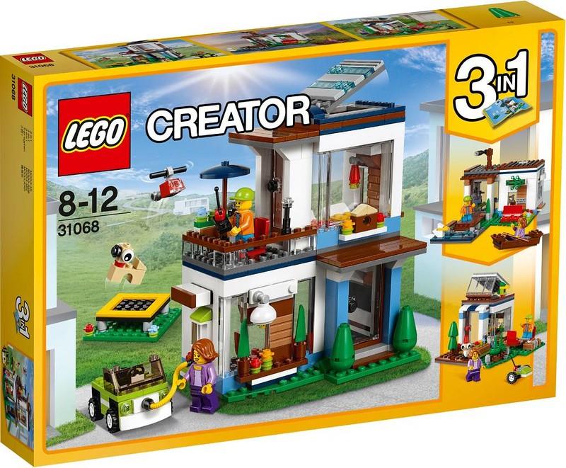 LEGO Creator Estate 2017 - Modular Modern Home (31068)
