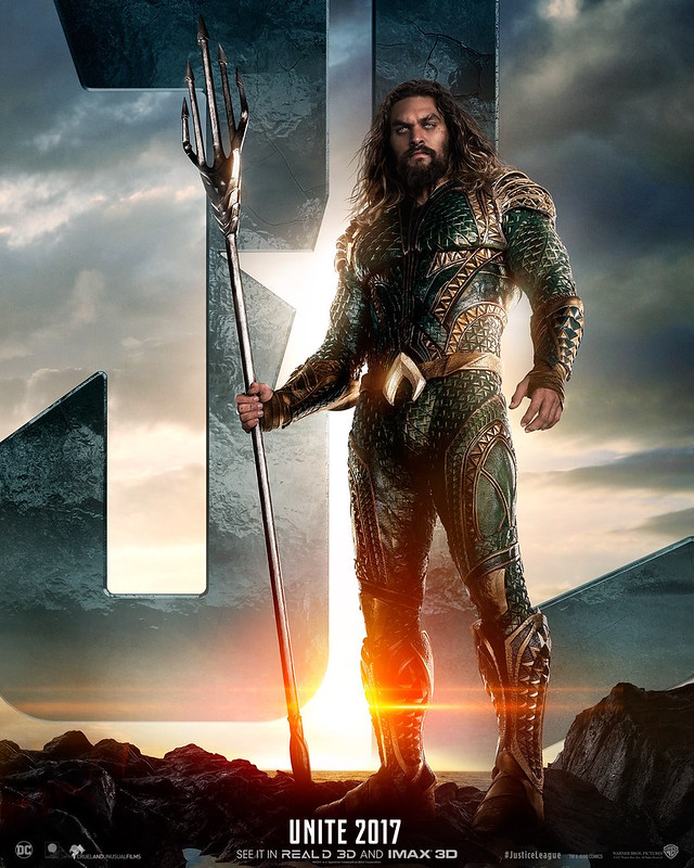 JUSTIC LEAGUE AQUAMAN
