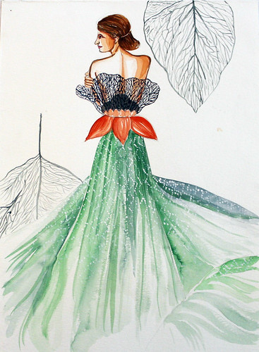 Fashion Illustration | by Ridhima.manghani