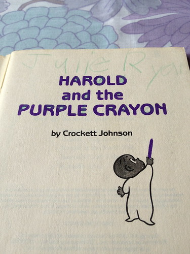 Ode to Harold and the Purple Crayon | by juliezryan
